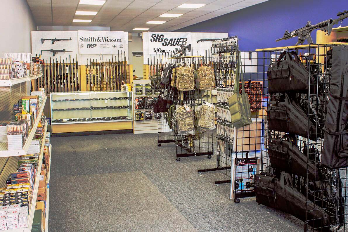 Xtreme Outdoors store interior